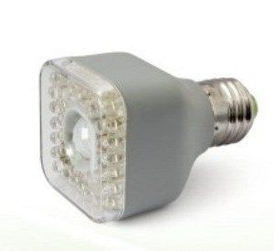 LED žiarovka z pohybovým senzorom  3W