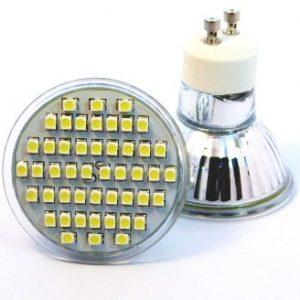 LED žiarovka GU10-2W