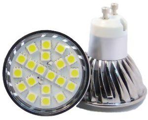 LED žiarovka GU10-3