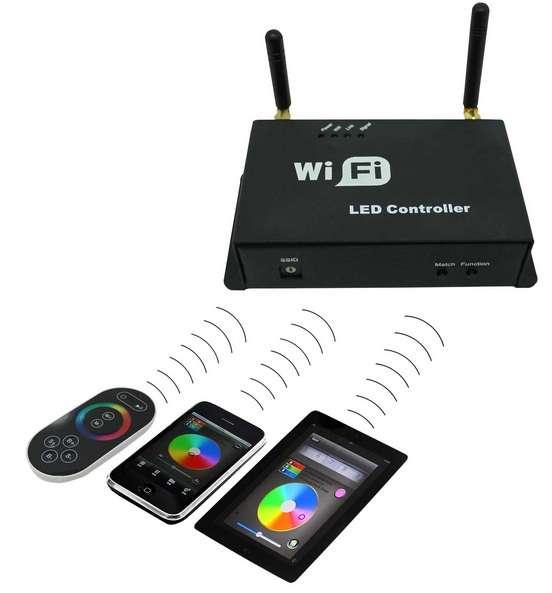 Wifi RGB ovládač