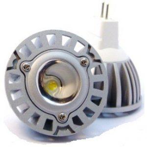 Bodová LED žárovka MR16-1x3W
