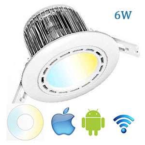Stropné LED svietidlo Wifi D 6W