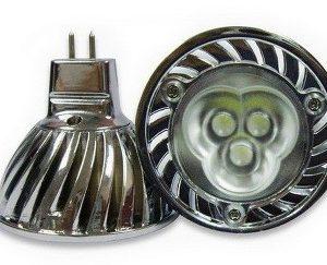 LED svítivka MR16-3W