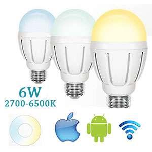 LED žiarovka Wifi Dual E27-9W