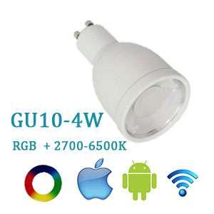 LED žiarovka Wifi RGBW GU10-4W