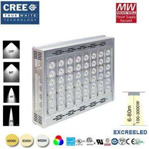 LED reflektor EXCREE LED 100