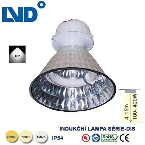 Indukčná LVD lampa 40W
