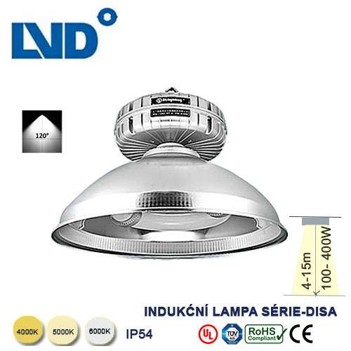 Indukčná LVD lampa DISA 200W