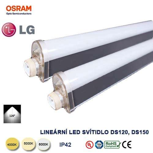 Lineárne LED svietidlo DS150