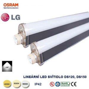 Lineárne LED svietidlo DS120