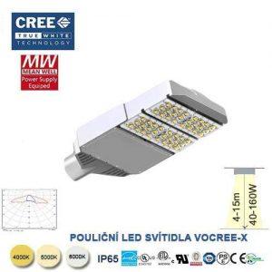 Lampa verejného osvetlenia VO CRE-X80W