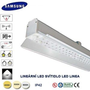 Modulárne lineárne svietidlo LED linea LL50-50W