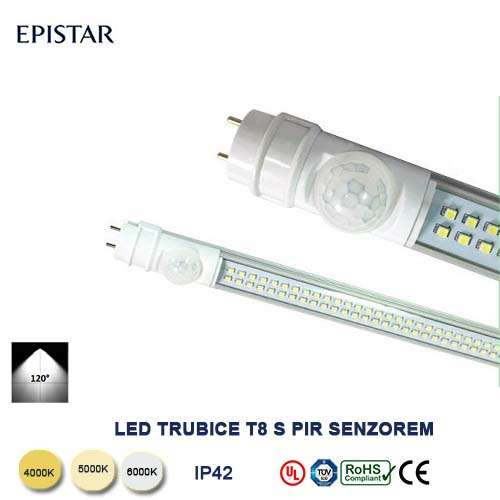 LED trubica TS8-18W-120cm zo  senzorom
