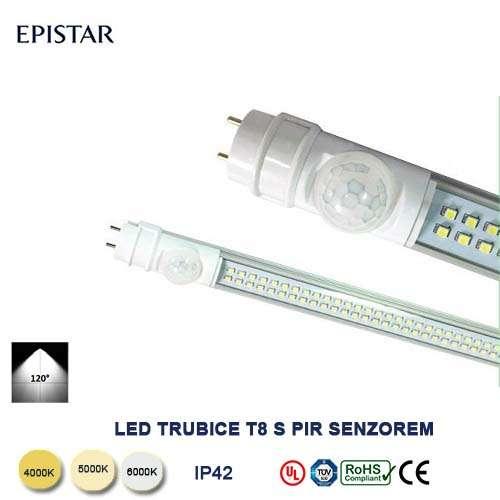 LED trubica TS8-25W-120cm zo senzorem
