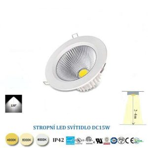 LED downlight DC15W