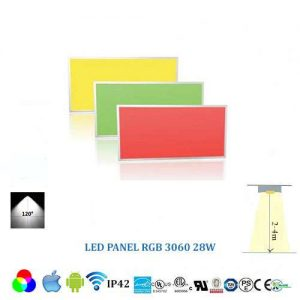 Stropný RGB LED panel 3060 - 28W