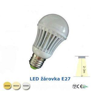 LED žiarovka 9W