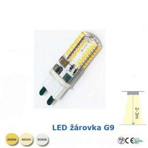 LED smd žárovka G9-7W
