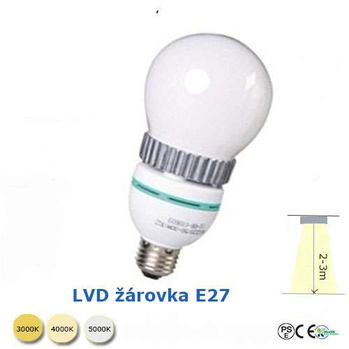 Indukční žárovka - E27- 30W
