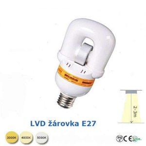Indukční žárovka - E27- 23W