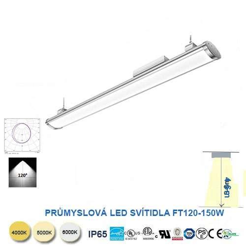 Lineárné LED svietidlo FT120-150W