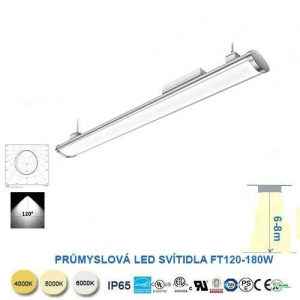 Lineárné LED svietidlo FT120-180W