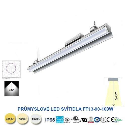 Lineárné LED svietidlo  F13T90-100W