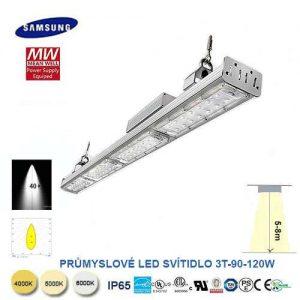 Lineárné LED svietidlo 3T-90-120W