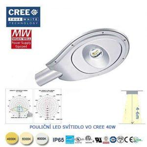 Lampa verejného osvetlenia VO CRE-40W