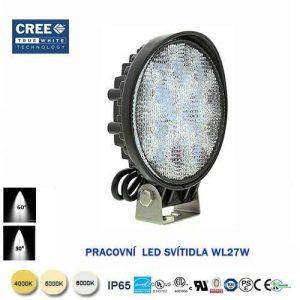 Pracovné LED svietidlo WL27W