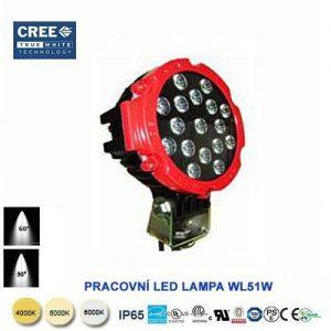 Pracovné LED svietidlo WL51W