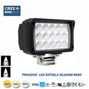 Pracovné LED svietidlo WLS-45W