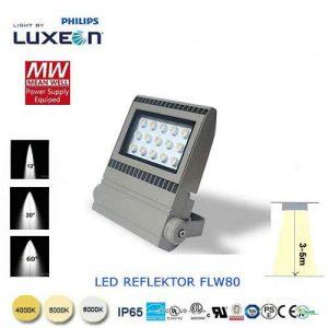 LED reflektor FLW80