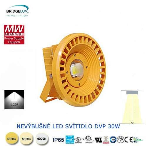 Nevýbušné LED svietidlo DVP 30W