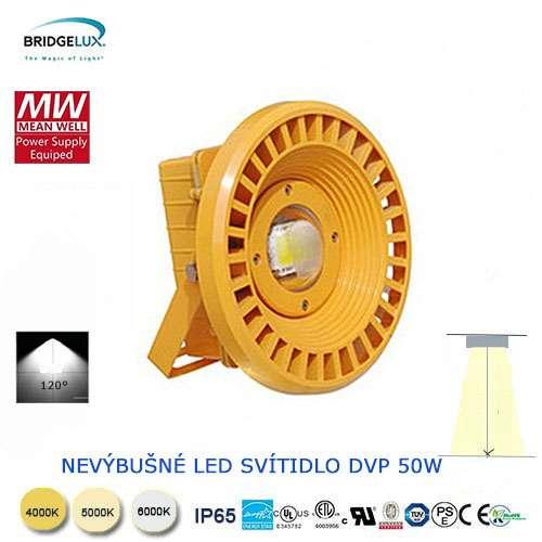 Nevýbušné LED svietidlo DVP 50W