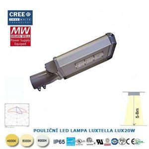 Pouličná LED lampa LUX26W