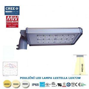 Pouličná LED lampa LUX72W