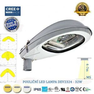 Pouličná LED lampa DEV-32W