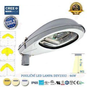 Pouličná LED lampa DEV-46W