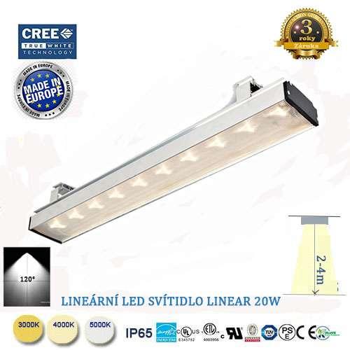 Lineárne LED svietidlo Linear 20W