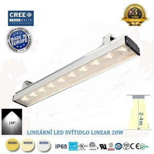 Lineárne LED svietidlo Linear 40W