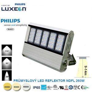 Priemyselný LED reflektor DNFL-260W