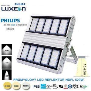 Priemyselný LED reflektor DNFL-520W