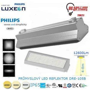 Priemyselný LED reflektor DRE-105B