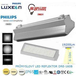 Priemyselný LED reflektor DRE-160B