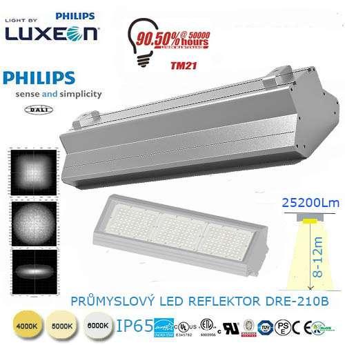 Priemyselný LED reflektor DRE-210B