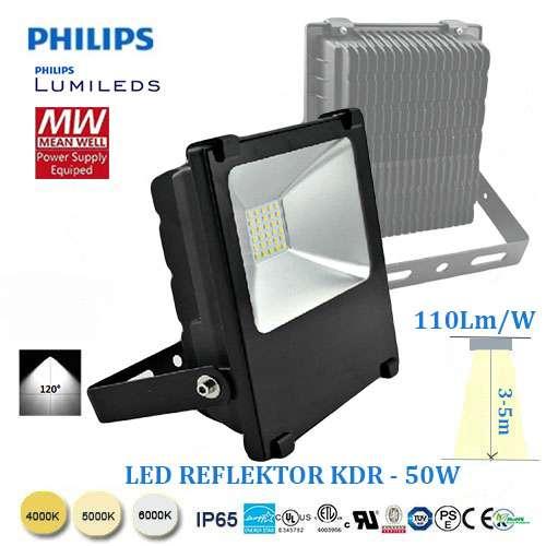 LED reflektor KDR-50W