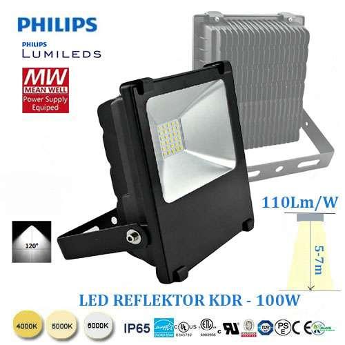 LED reflektor KDR-100W