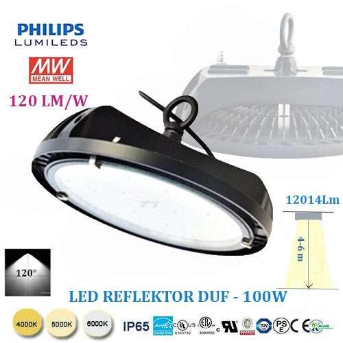 LED reflektor DUF 100W