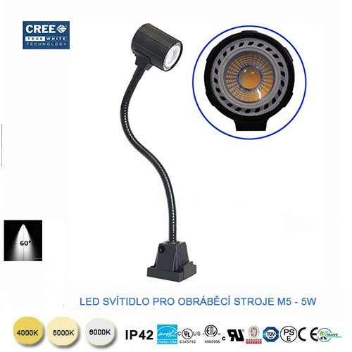 LED svietidlo s flexibilným ramenom M5